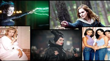 Γυναίκες ηθοποιοί σε ρόλο μάγισσας