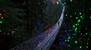 Μια εντυπωσιακή γέφυρα στον καναδά