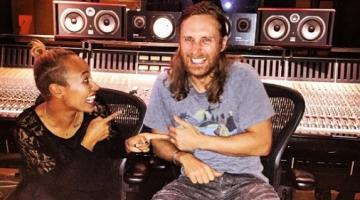 Μαζί στο στούντιο David Guetta & Emeli Sande