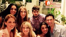 Ο NGradio με τον Μάριο Φραγκούλη, την Άλκηστη Πρωτοψάλτη και την Ασπασία Λεβέντη