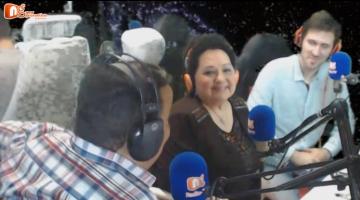 Σύντομα σχόλια για την Χαρούλα Λαμπράκη καλεσμένη στον ngradio