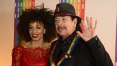 Watch Carlos Santana, Cindy Blackman perform national anthem