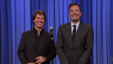 Watch Tom Cruise and Jimmy Fallon Reenact Top Gun in This Epic Lip Sync Battle