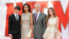 Paul Rudd, Catherine Zeta-Jones, Michael Douglas hit the red carpet for 'Ant-Man' premier