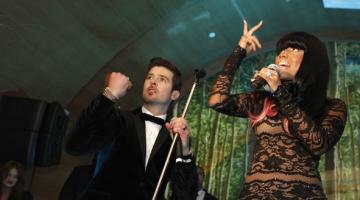 Ο Robin Thicke και η Nicki Minaj είναι «Back Together»