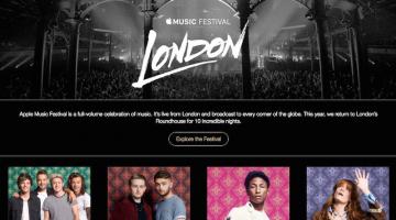 Pharrell, One Direction και πολλοί άλλοι στο Apple Music Festival 2015