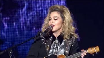 Η Μαντόνα τραγουδά για τον Σον Πεν
