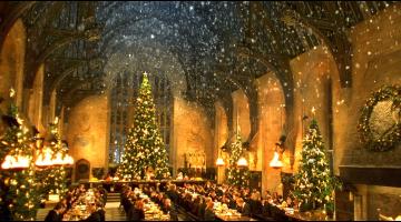 Απολαύστε ένα χριστουγεννιάτικο δείπνο στο Hogwarts
