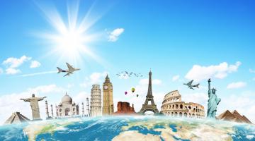 Δέκα πολύ ενδιαφέροντα Infographics για τα ταξίδια