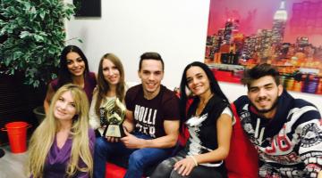 Ο παγκόσμιος πρωταθλητής κρίκων Λευτέρης Πετρούνιας στον NGradio