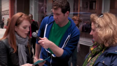 'Billy on the Street': Julianne Moore Freaks Out Times Square Tourists