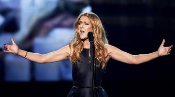 Η Σελίν Ντιόν (Celine Dion) τραγουδά Αντέλ (Adele)