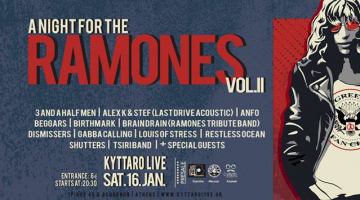 A Night For The Ramones Vol.2 – KYTTARO Live