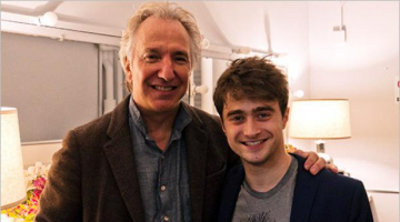 Daniel Radcliffe's Touching Tribute to Alan Rickman