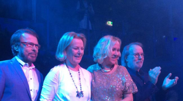 Abba are back together again as group reunites for first time in eight years