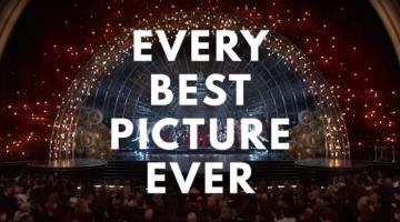 Όλα τα Όσκαρ καλύτερης ταινίας σε ένα βίντεο