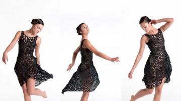 3D εκτυπωμένο φόρεμα ανοίγει νέους ορίζοντες στη μόδα