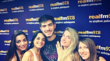Ο NGradio στον Real FM με τον Μάνο Τσιλιμίδη