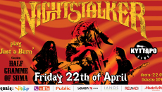Nightstalker Live στο KYTTARO CLUB 22 Απριλίου