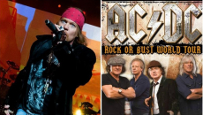 Guns 'N Roses frontman Axl Rose is AC/DC's new singer and will join band on tour