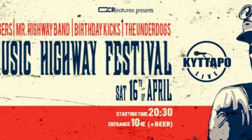 The 5th Highway Festival – 16 Απριλίου στο ΚΥΤΤΑΡΟ Club