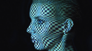 There's a website that scans your face and turns you into a pretty trippy music video