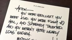 J.J. Abrams Leads Tributes To Late Star Trek Actor Anton Yelchin