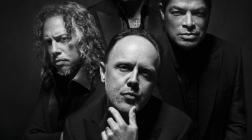 METALLICA: Behind-The-Scenes Footage From Photo Shoot For BRIONI Menswear Campaign
