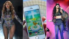 Η Pokemon Go έχει εκνευρίσει τη Rihanna και οι φανς της Beyonce κυνηγούν Pokemon στις συναυλίες της