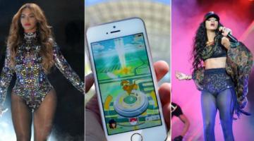 Η Pokemon Go έχει εκνευρίσει τη Rihanna και οι θαυμαστές της Beyonce κυνηγούν Pokemon στις συναυλίες της