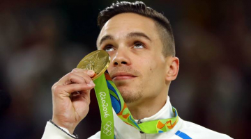 Greek Gymnast Eleftherios Petrounias Wins Gold Medal in Rio