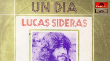 Λουκάς Σιδεράς – One Day/Lady/Enough To Care σε 45άρι δίσκο – 1972