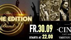 Goldie Edition live party at Cin3ma – Παρασκευή 30/9