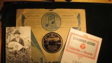 Chris travels at 78 RPM – Radio Show No. 1