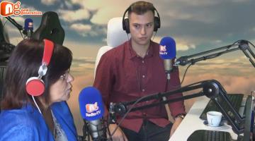 Ο Γιώργος Βουδούρης δίνει συνέντευξη στον NGradio