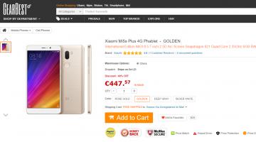 To Xiaomi Mi5s Plus και το Xiaomi Mi5s σε προσφορά στο κατάστημα GearBest