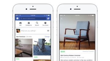 Facebook wants to replace Craigslist and eBay with a new section in its app