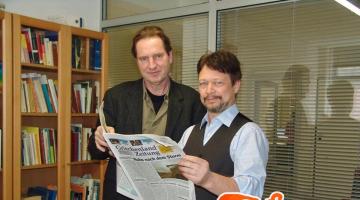 Οι Γιαν Χύμπελ και Ρόμπερτ Στάντλερ δίνουν συνέντευξη στον NGradio