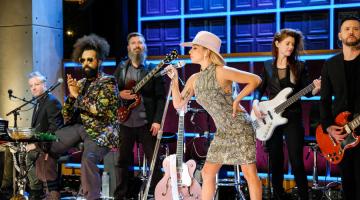 Lady Gaga gets behind the wheel with James Corden for 'Carpool Karaoke'