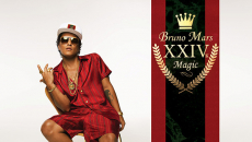 "Bruno Mars Returns After 4 Years With ""24K Magic"""