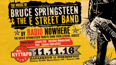 RADIO NOWHERE – THE MUSIC OF BRUCE SPRINGSTEEN  & THE E STREET BAND LIVE @ ΚΥΤΤΑΡΟ!