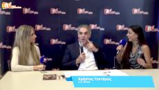 Ο Πρόεδρος του ΟΠΑΝΔΑ Χρήστος Τεντόμας δίνει συνέντευξη στον NGradio.gr
