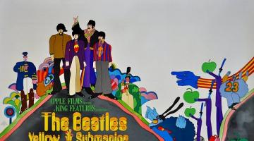 Σαν σήμερα το 1968 κυκλοφόρησε  η ταινία Yellow Submarine των Beatles