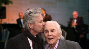 Kirk Douglas Celebrates 100 with a Star-Studded Birthday Party