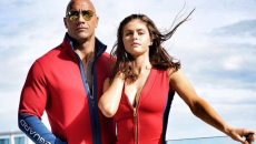 Baywatch trailer: The Rock, Zac Efron and slo-mo swimsuit jogs in first look
