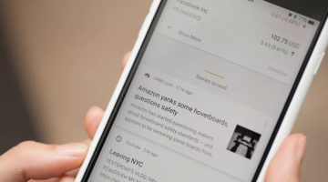 Google is putting a news feed in Android's home screen
