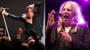 Iggy Pop, Patti Smith Tapped for Tibet House US Benefit Concert