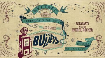 THE BULLETS live @ Kyttaro Club Πέμπτη 05-01