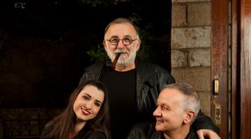 Ο Θάνος Μικρούτσικος – Χρήστος Θηβαίος – Μαριάννα Πολυχρονίδη @ Γυάλινο Μουσικό Θέατρο