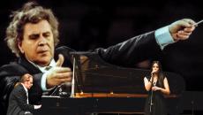 Απονομή χρυσού δίσκου & Συναυλία «Συνάντηση ΙΙ» Μίκης Θεοδωράκης – Στέφανος Κορκολής – Ερμηνεία Τραγουδιών: Σοφία Μανουσάκη